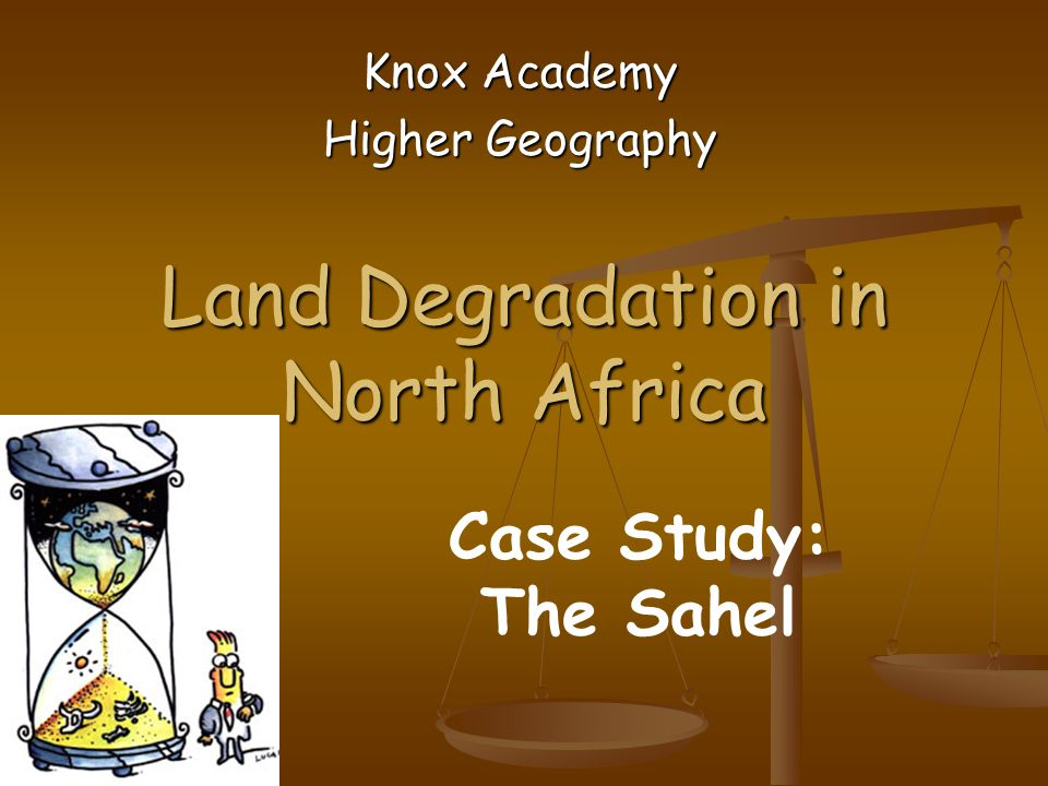 Land Degradation in North Africa
