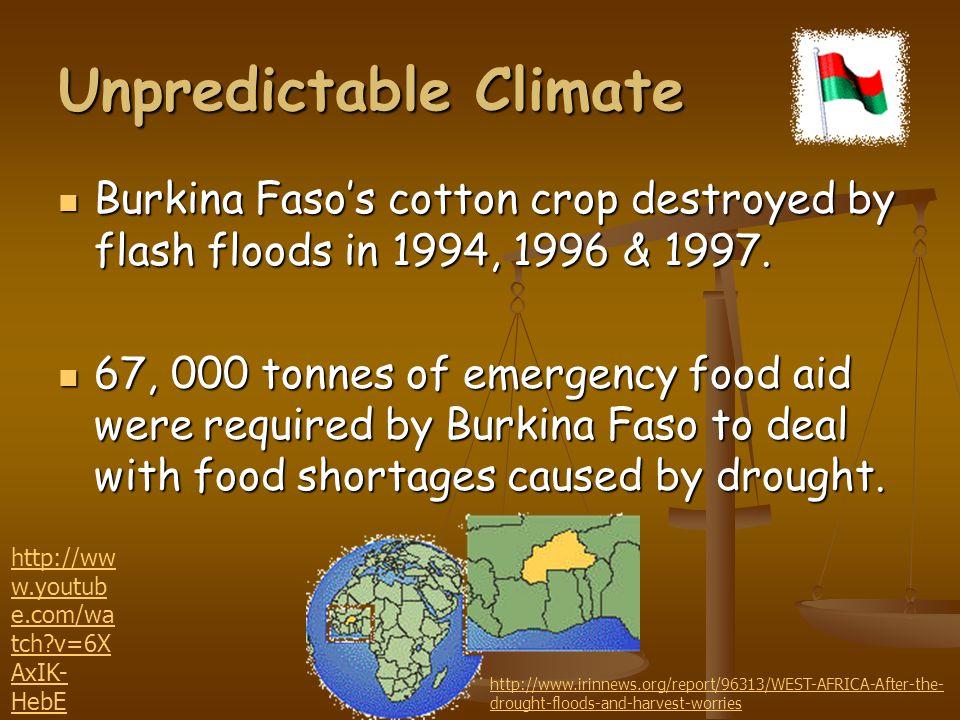 Unpredictable Climate