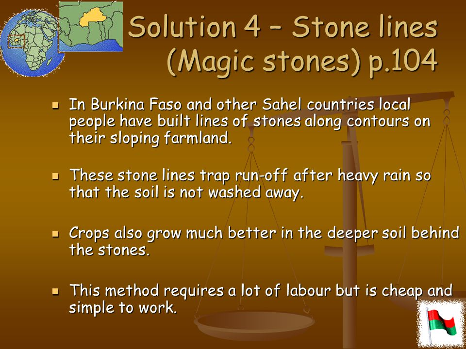 Solution 4 – Stone lines (Magic stones) p.104
