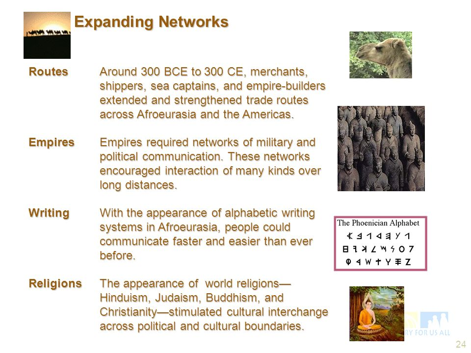 Expanding Networks