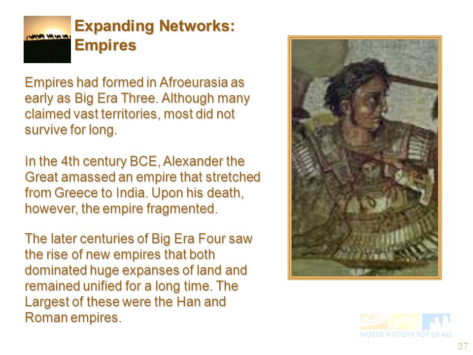 Expanding Networks: Empires