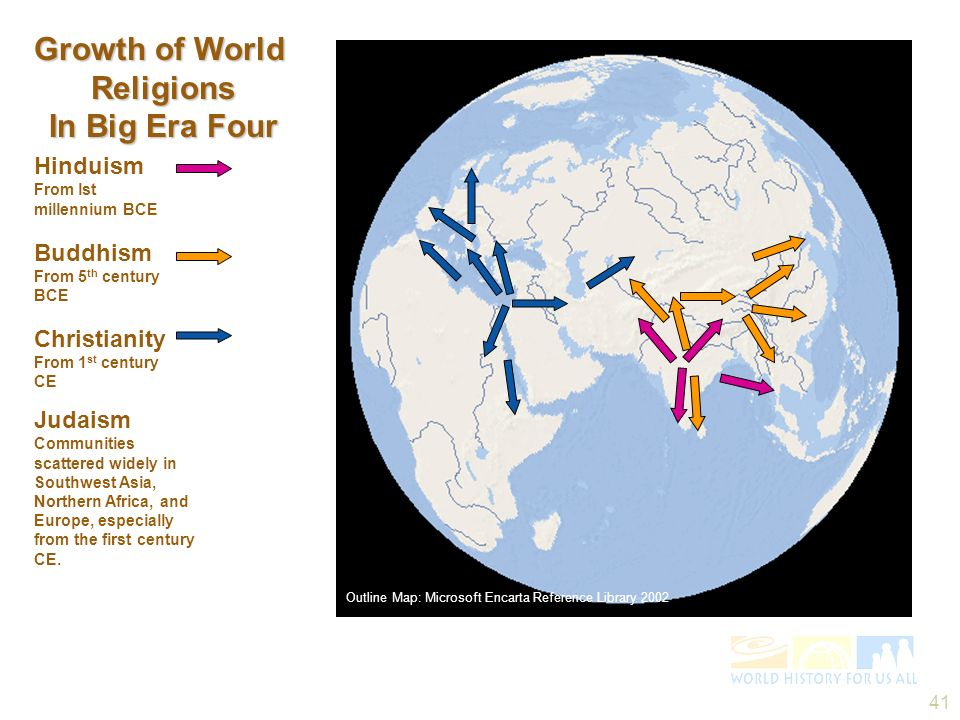 Growth of World Religions In Big Era Four