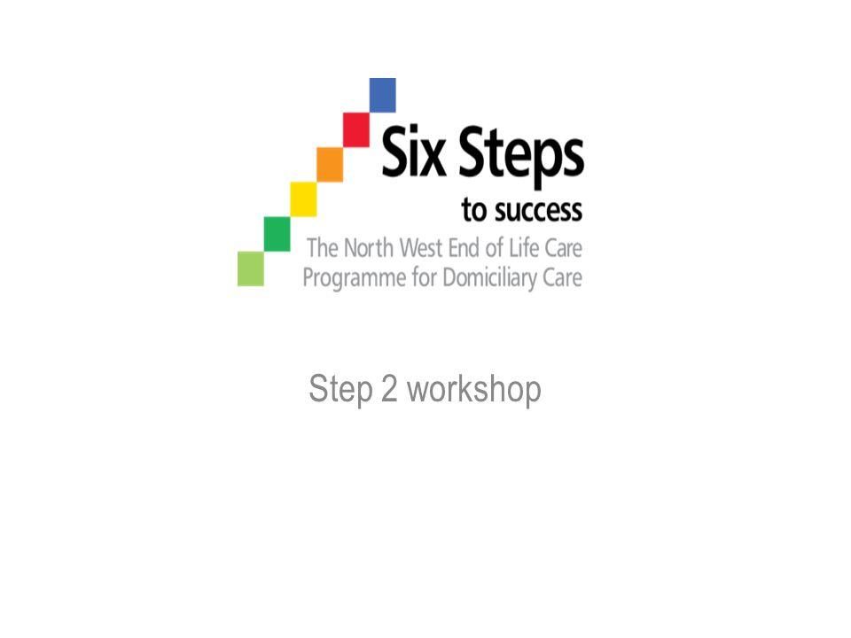 Step 2 workshop