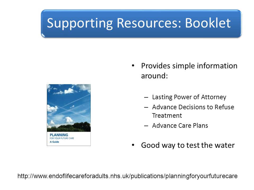 Supporting Resources: Booklet