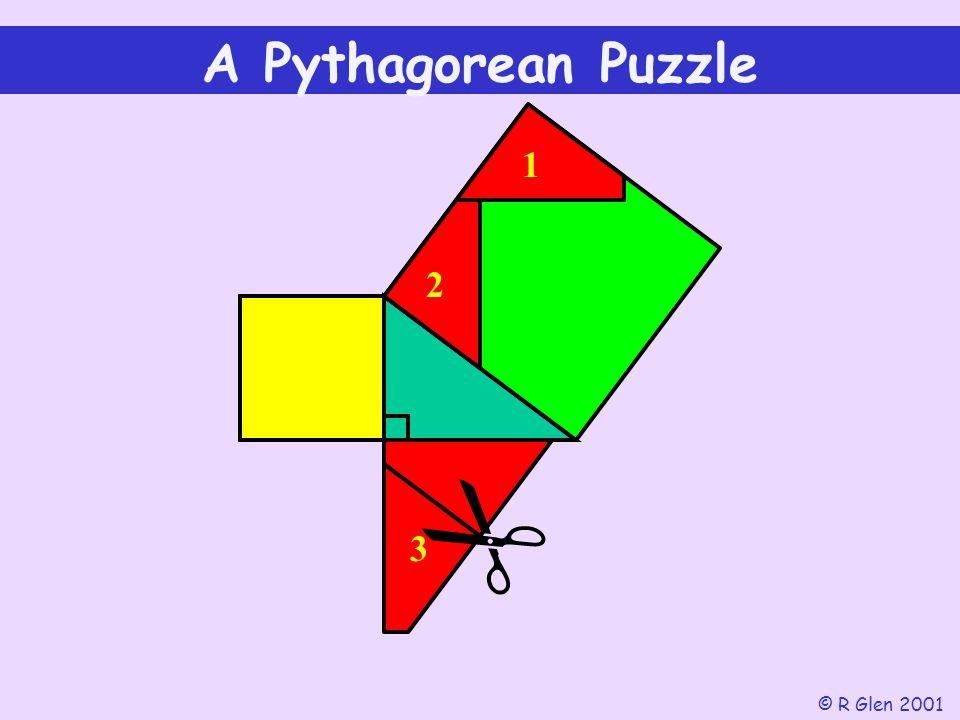 A Pythagorean Puzzle 1 2  3 © R Glen 2001
