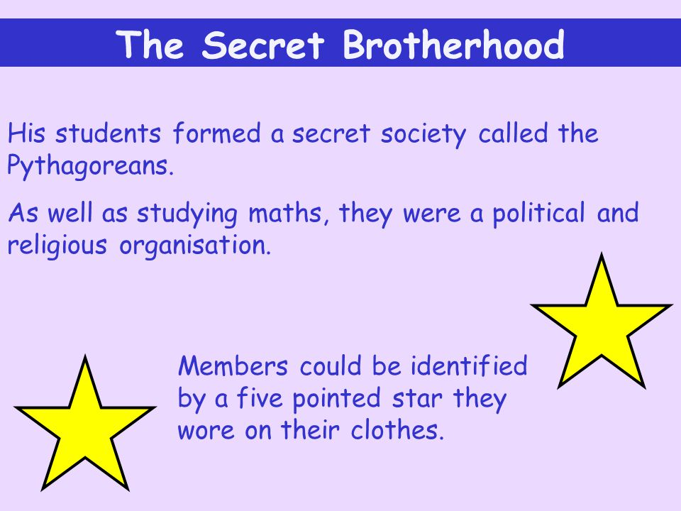 The Secret Brotherhood