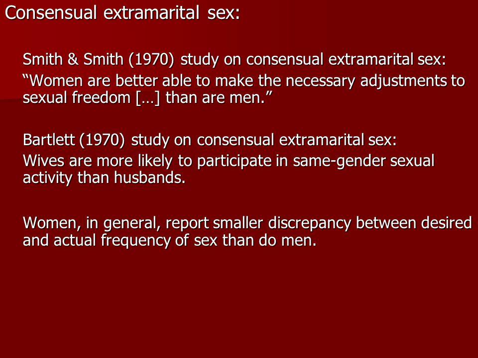 Consensual extramarital sex: