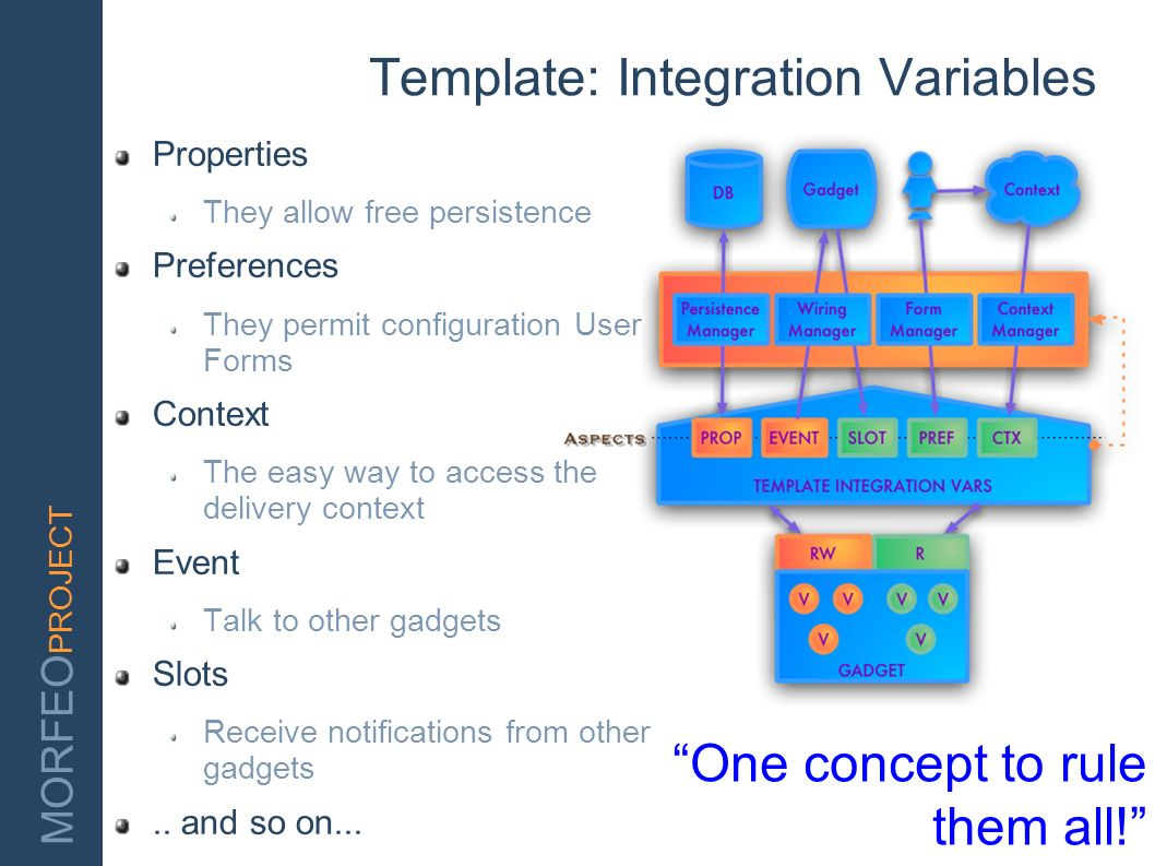 Template: Integration Variables
