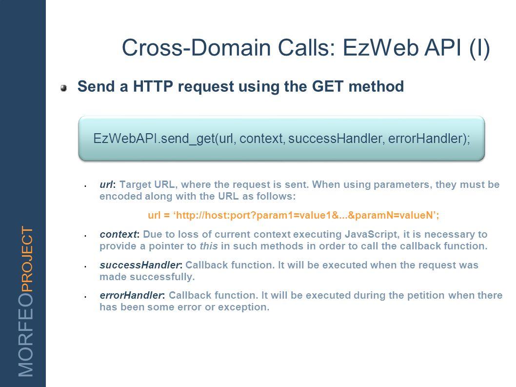 Cross-Domain Calls: EzWeb API (I)