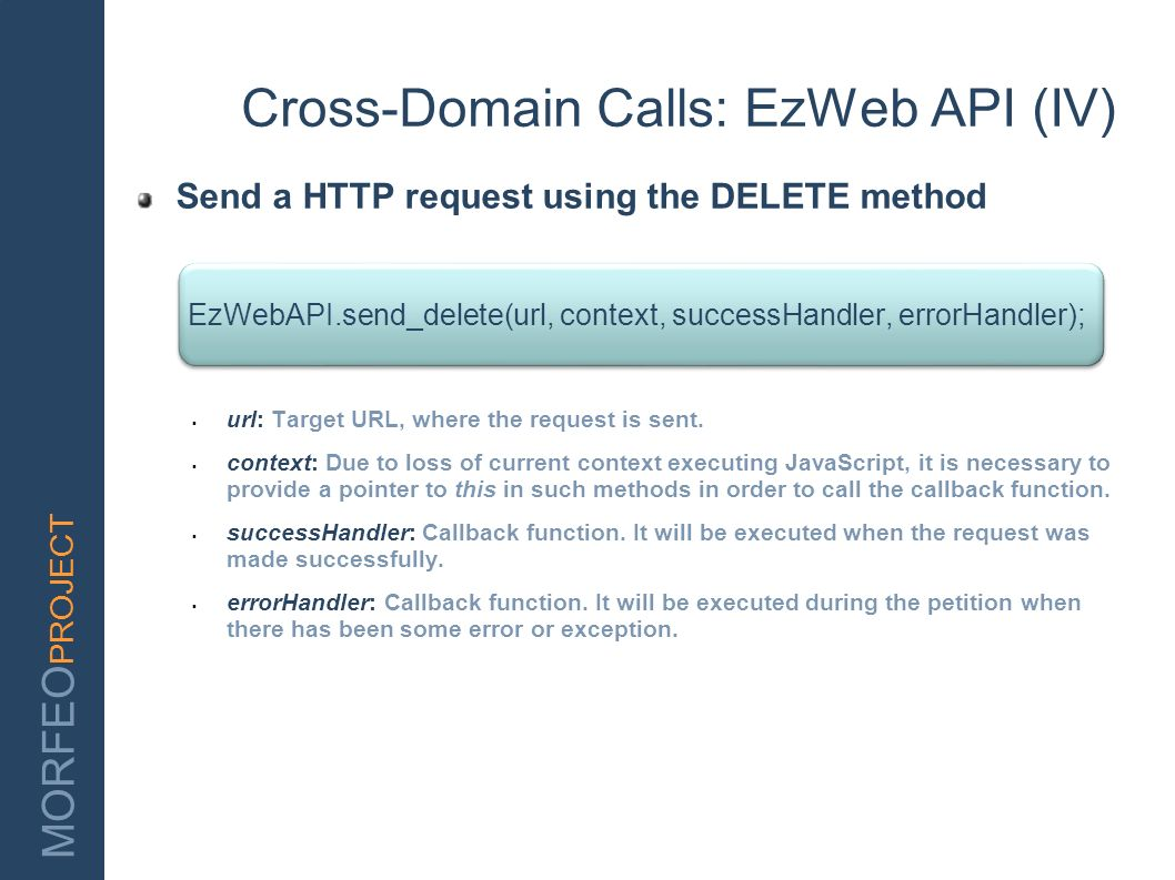 Cross-Domain Calls: EzWeb API (IV)