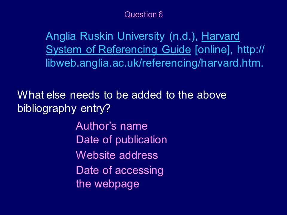 What else needs to be added to the above bibliography entry
