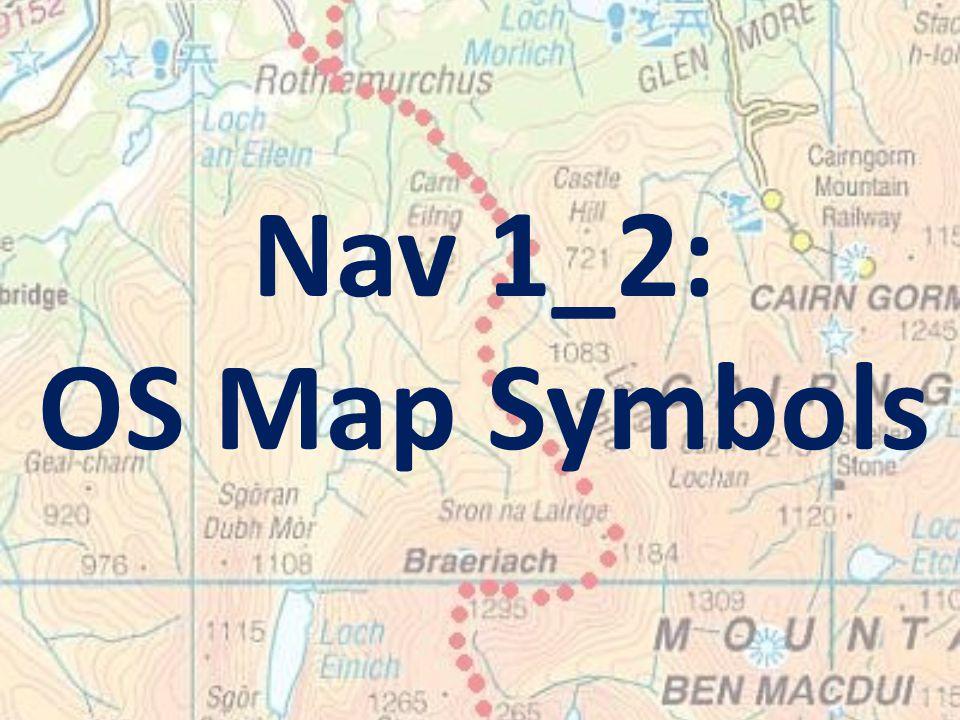 Nav 1_2: OS Map Symbols