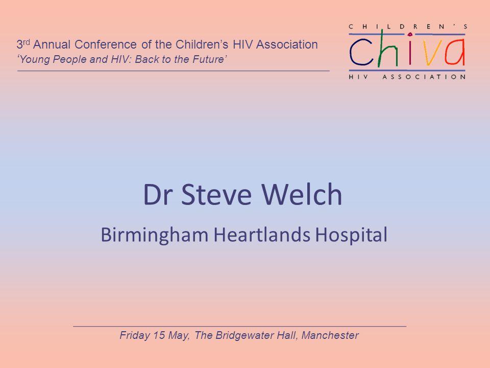 Dr Steve Welch Birmingham Heartlands Hospital