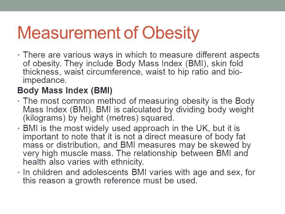 Measurement of Obesity