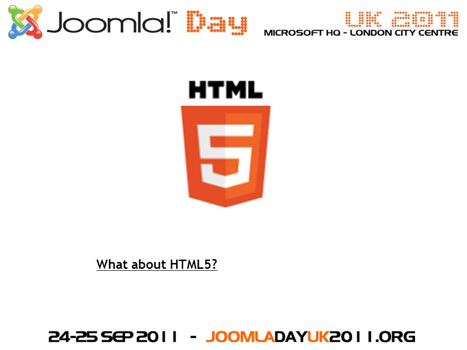 What about HTML5