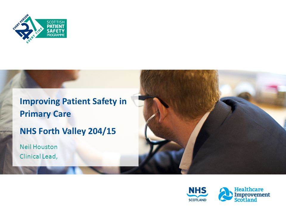 Improving Patient Safety in Primary Care