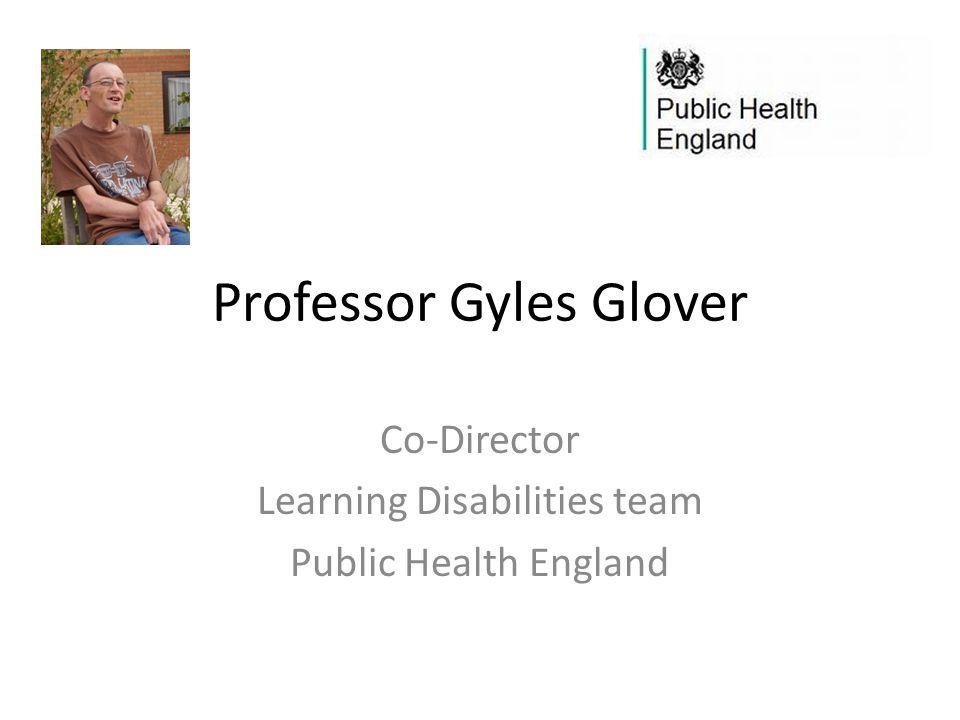 Professor Gyles Glover