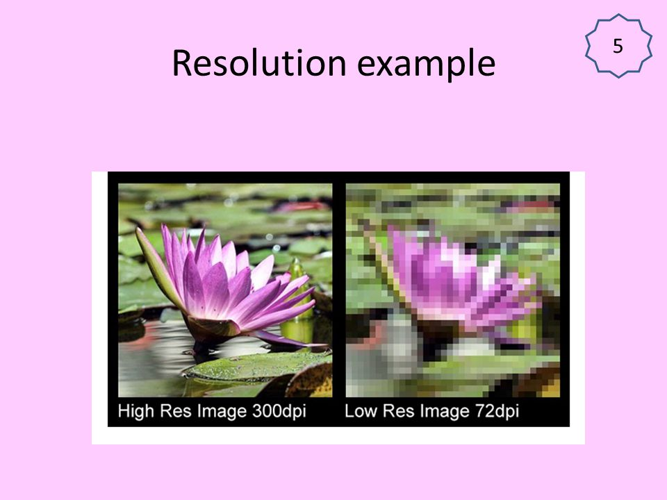 5 Resolution example