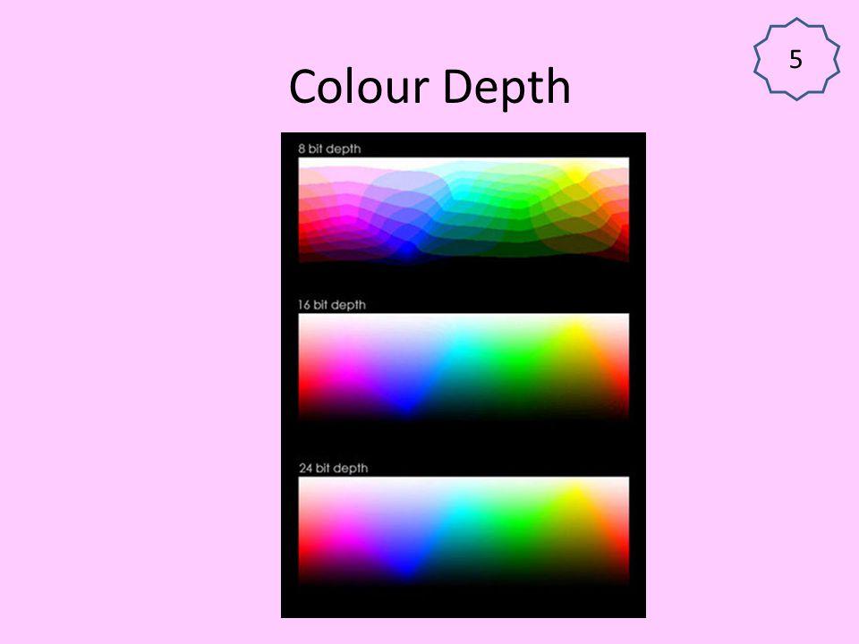 5 Colour Depth