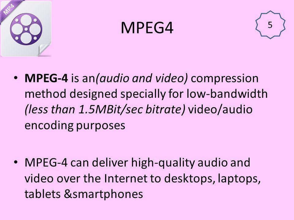 MPEG4 5.