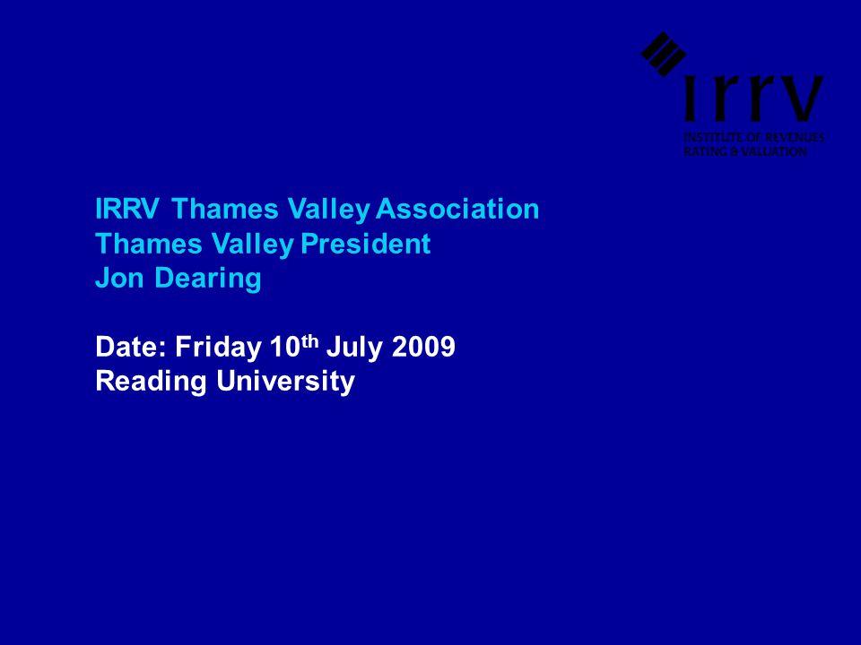 IRRV Thames Valley Association