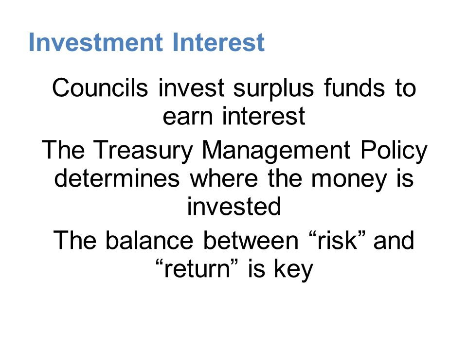 Investment Interest