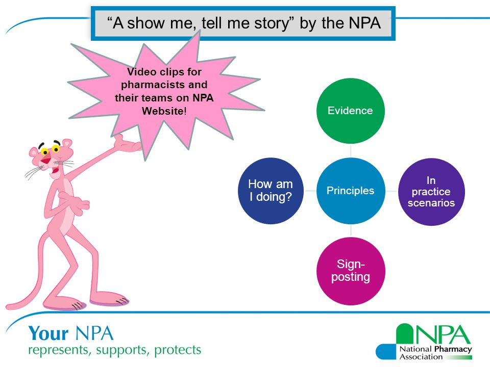 Video clips for pharmacists and their teams on NPA Website!