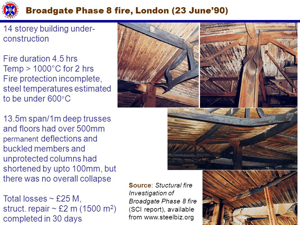 Broadgate Phase 8 fire, London (23 June'90)