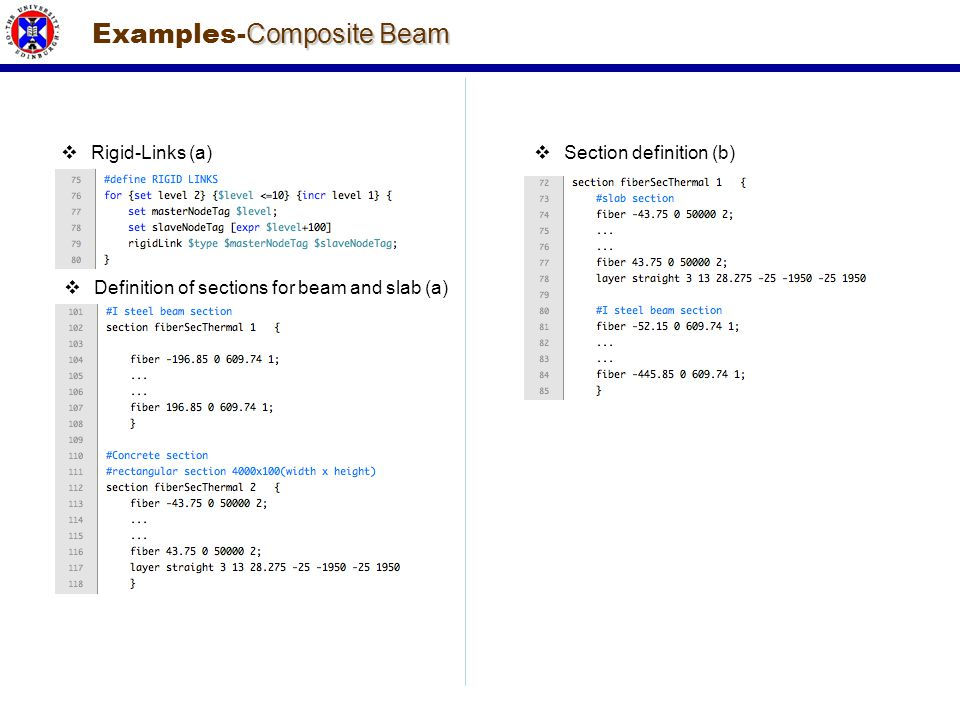 Examples-Composite Beam