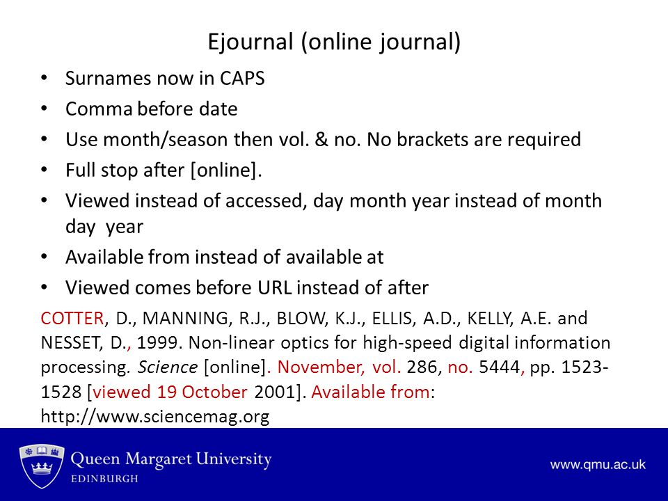 Ejournal (online journal)