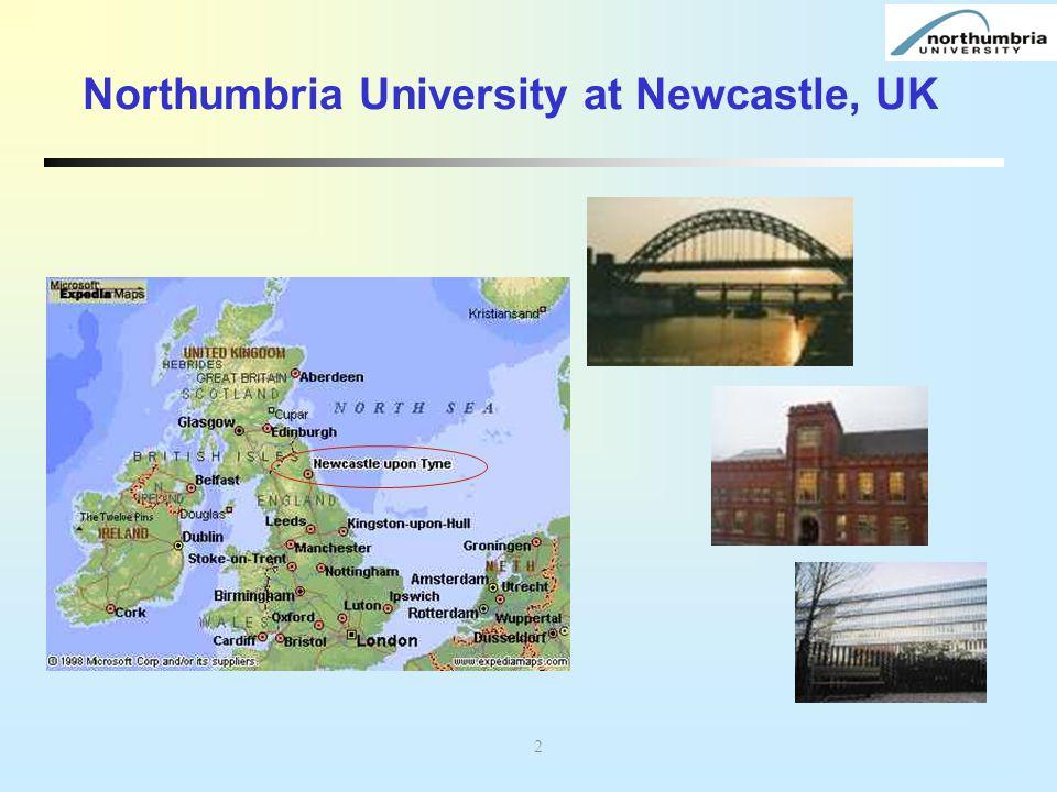 Northumbria University at Newcastle, UK