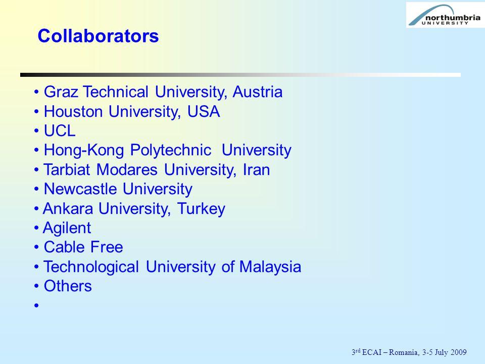 Collaborators Graz Technical University, Austria