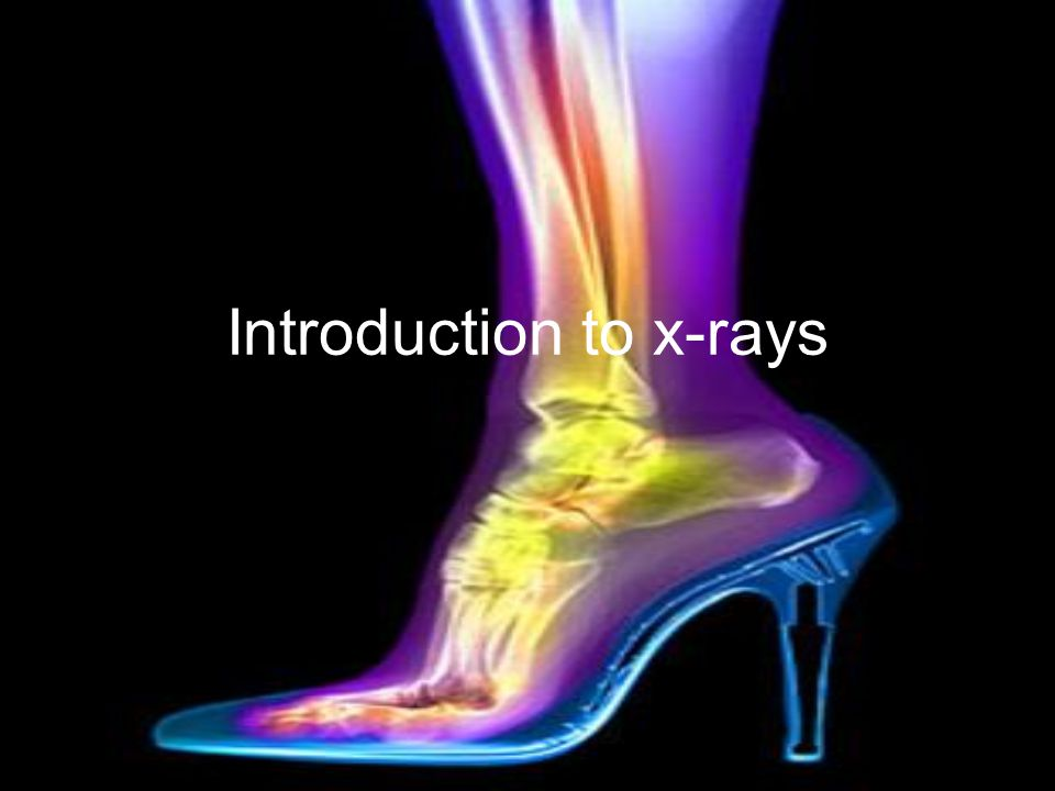 Introduction to x-rays