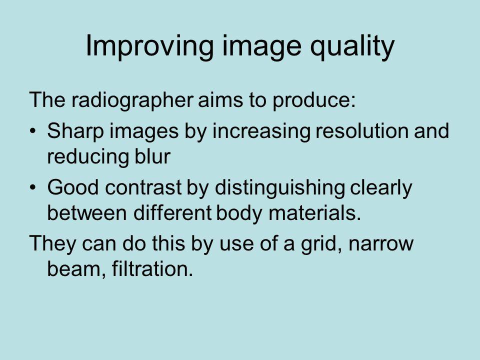 Improving image quality