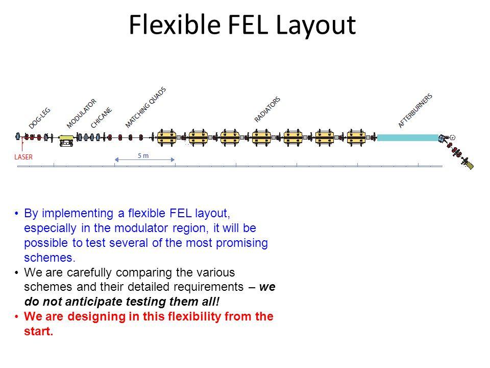 Flexible FEL Layout