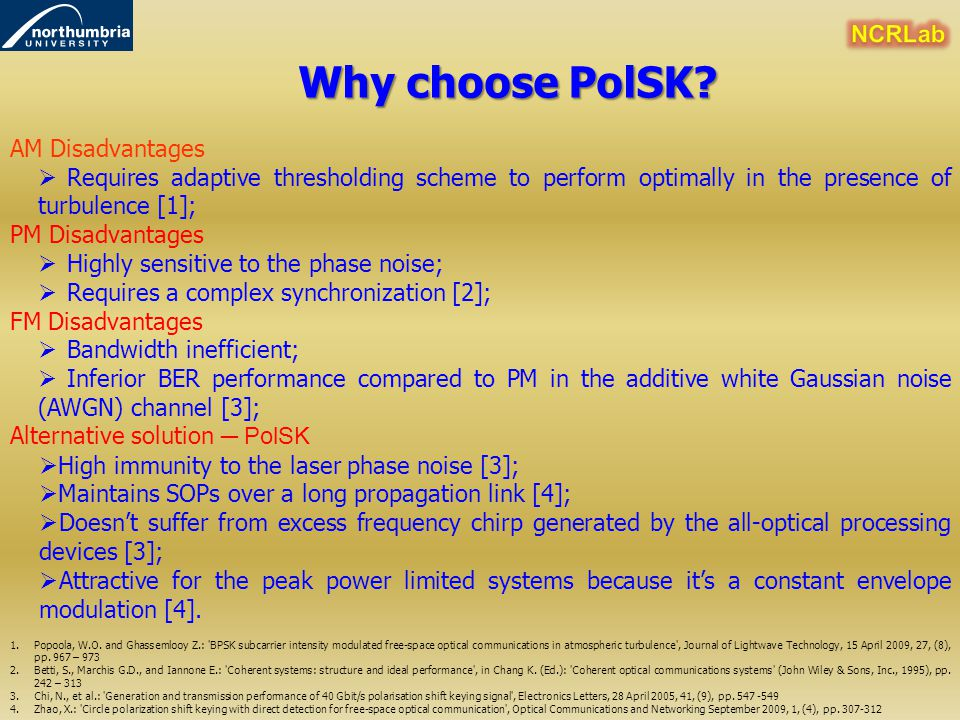 Why choose PolSK NCRLab AM Disadvantages