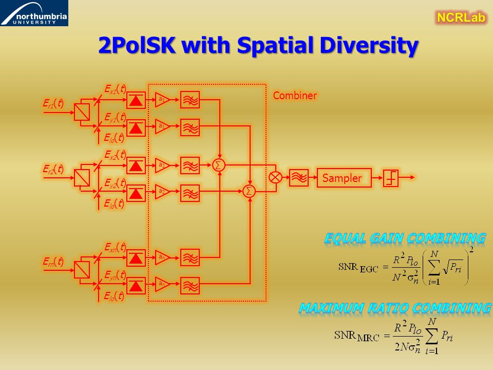 2PolSK with Spatial Diversity