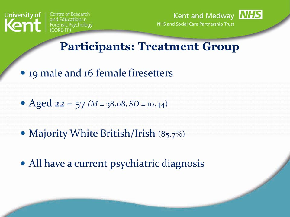 Participants: Treatment Group