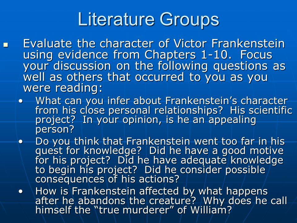 Literature Groups
