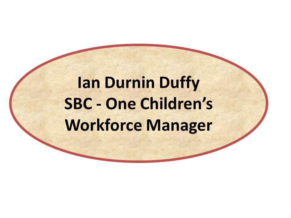 SBC - One Children's Workforce Manager