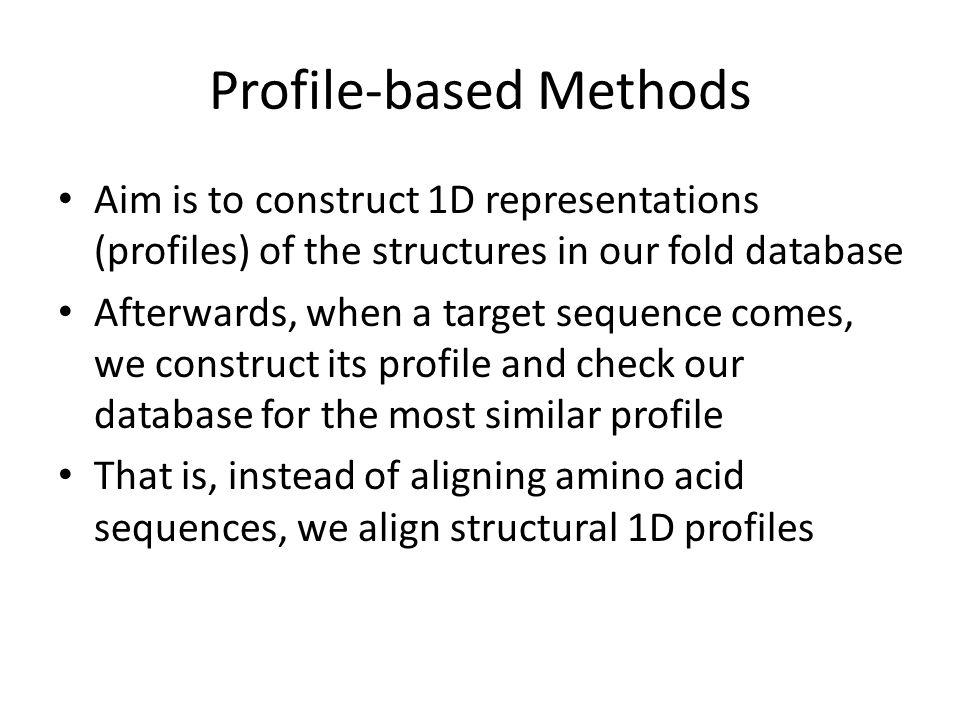 Profile-based Methods