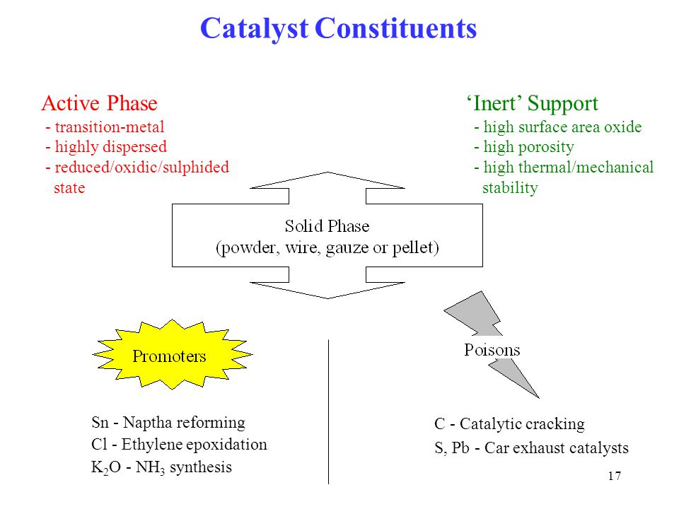 Catalyst Constituents