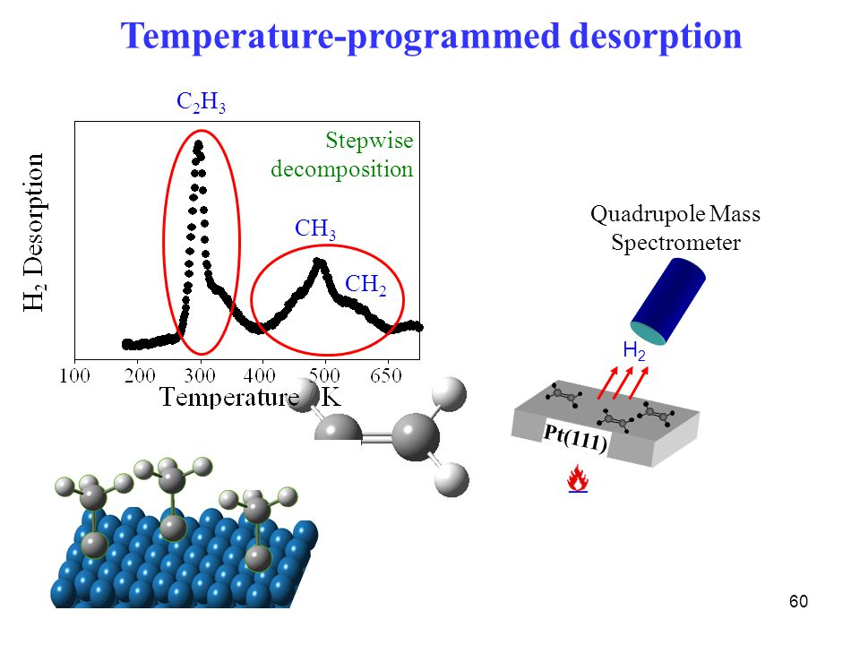 Temperature-programmed desorption