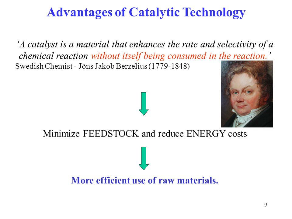 Advantages of Catalytic Technology
