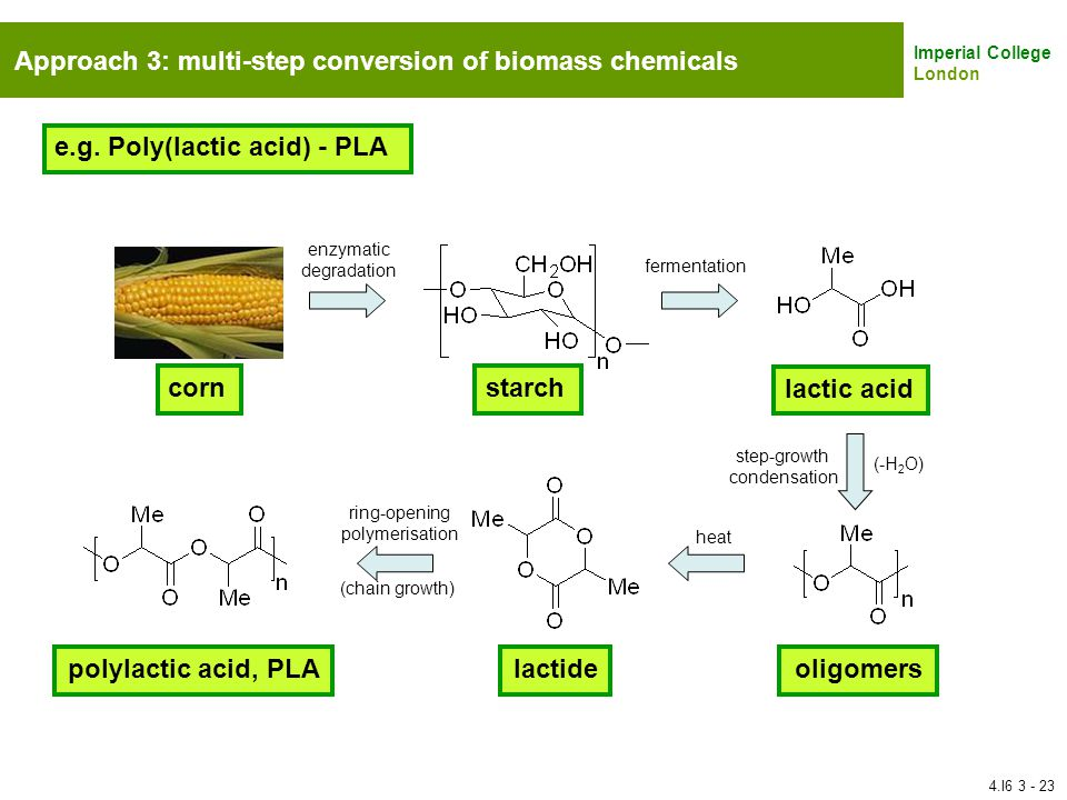polylactic acid, PLA lactide oligomers