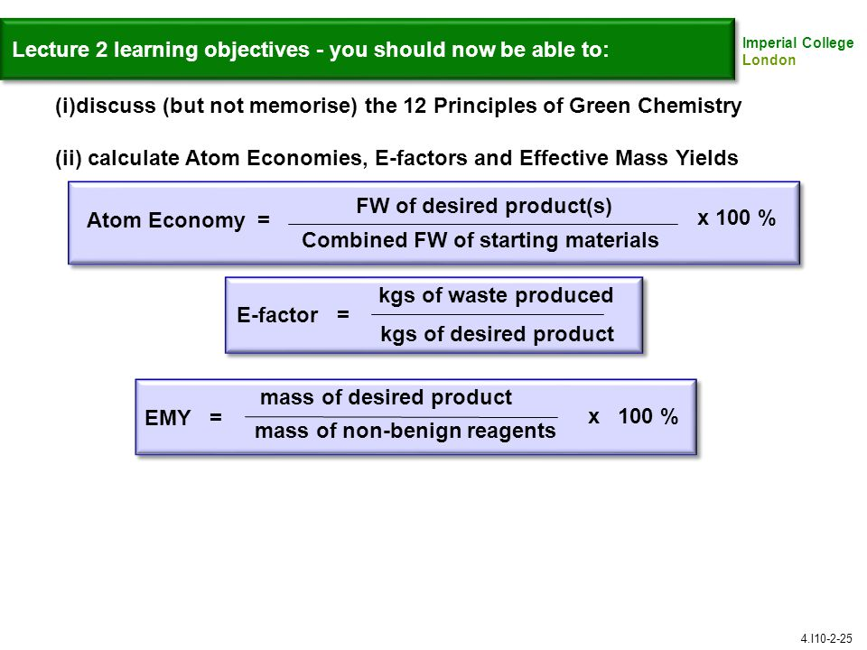 Lecture 2 learning objectives - you should now be able to: