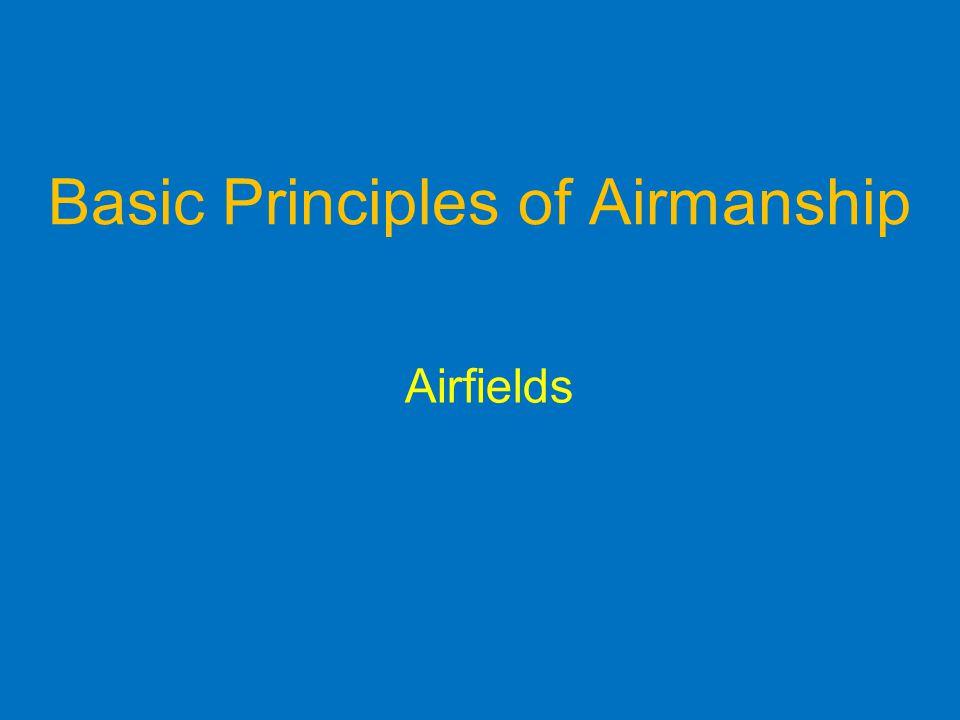 Basic Principles of Airmanship