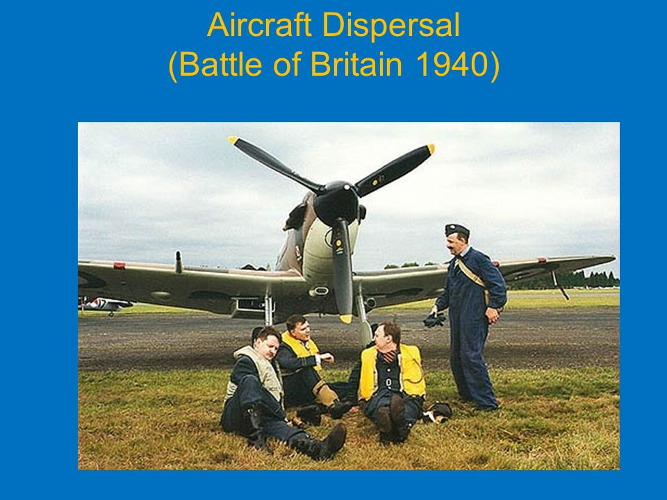 Aircraft Dispersal (Battle of Britain 1940)