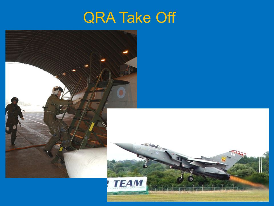 QRA Take Off A Tornado F3 simulate a Quick Reaction Aircraft scramble take off