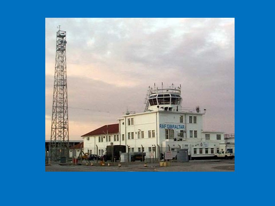 ATC control tower and comms mast